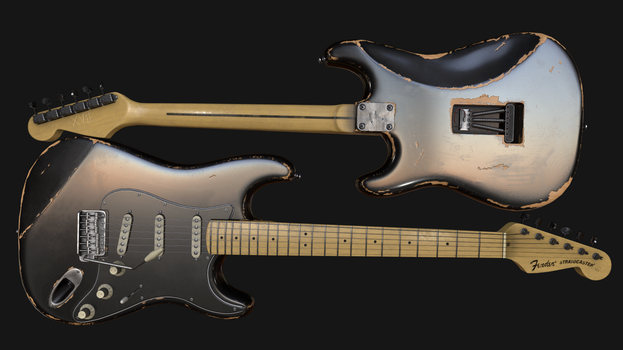 Stratocaster by AndreiPriss