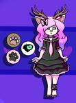 Sweetnfluffy-adopts deer lolita by Annobethal
