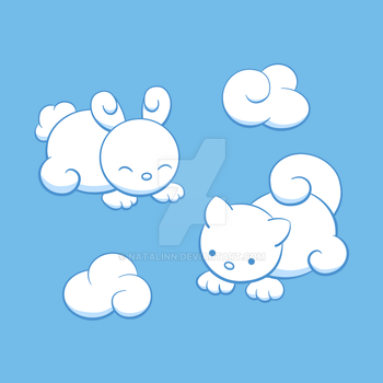 Cloud animals by natalinn