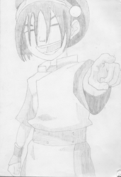Toph Beifong - Blind but Awesome by pigafrizz