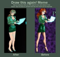 Before and After Meme by ChocoboGoddess