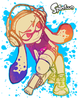 Some Splatoon shiz by NolyCS