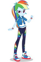 EG Better Together Rainbow Dash by Gouhlsrule