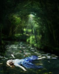Ophelia by Madink2000