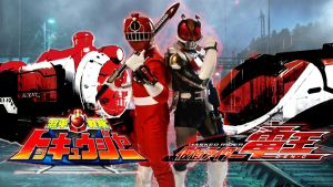 Kamen Rider Den O and Toqger Red by Desertred09