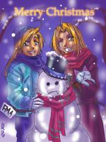 An Elric Christmas by claudiakat