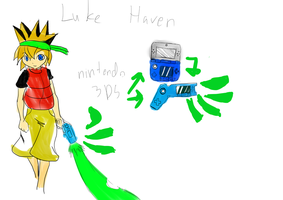 console knight: luke haven by projectsmash
