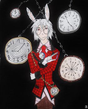 Time is running out my dear Alice... by Sunsetsurfer21