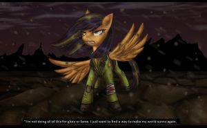 CE: Scootaloo the last pony by Art-by-Ling
