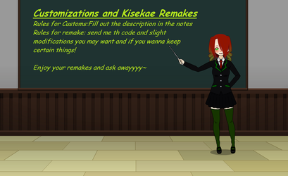 kisekae Remakes and Customization ~(closed)~ by Mata-The-dregon