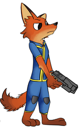 Vault suit Nick by Chadrack360