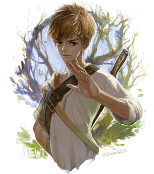 Tmr_Newt by fromKITnoc