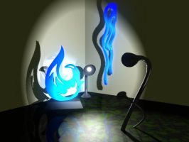Abstract 3D Room by Sunspot01