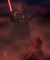 Hunting down the Jedi by Jordanoff