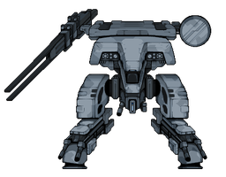Metal Gear REX by alexmicroheroes