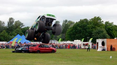 Monster Truck 06 - Swamp Thing by gopherboy76