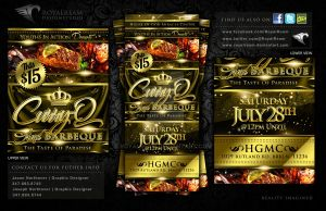 Promotional Event Ticket Design by RoyalReam