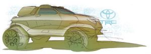 toyota sketch by mikelyden