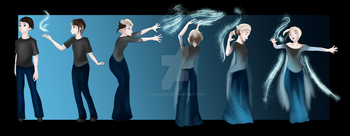 Commission - Elsa TG 1/2 - ToriRay128 by Luxianne