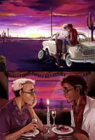 The Lovers of Night Vale by meadow-rue