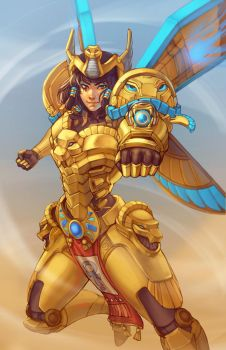 Pharah by DreamerWhit