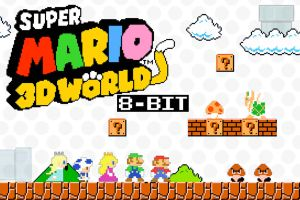 8 Bit Super Mario 3D world Wallpaper by GreenMachine987