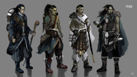 Kanak - concepts by DieNCry