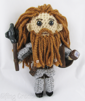 Dwarf Doll - Dungeons and Dragons by merigreenleaf
