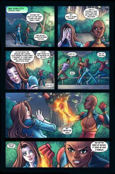 Neverminds #4 Preview Page 1 by RichBernatovech
