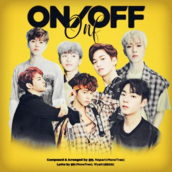 ONF ON/OFF album cover by LeaKpAlbum