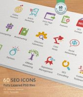 SEO Services Icons by kh2838