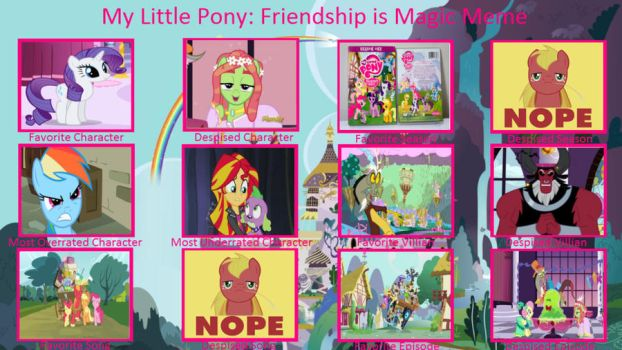 My MLP Controversy Meme by 9thDoctorWhooves