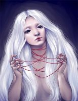 Doll Ghost Lady by psycho-kitty