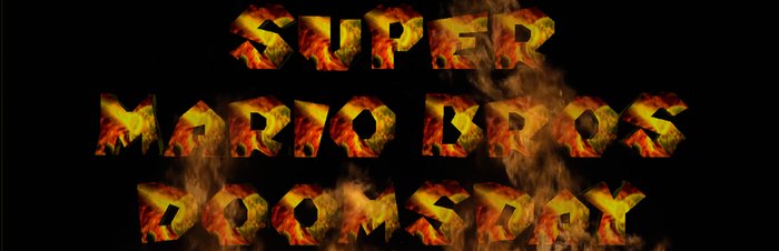 Super Mario Bros Doomsday Header by BuzzNBen