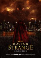 Doctor Strange Theatrical Poster by Mesmeretics