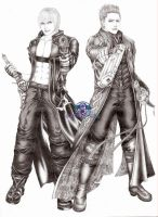 DMC3 'Jackpot' by VergilSharky
