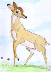 Faline..a vision of loveliness by greydeer2010
