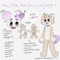 new fur ref sheet 2017 // will be keeping old fur by skeleshibe