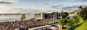 Memphis in May Skyline by isaacsingleton