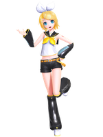 MMD - PDXHD Default Rin +DL by luiz7429