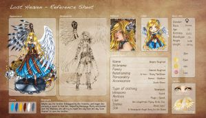 Lost Heaven - RefSheet : Belphe  Siegfried by Linelana