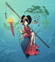 Geisha by Timooon