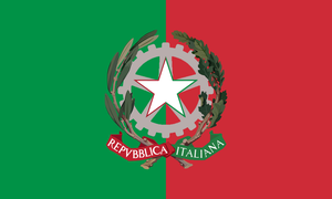 Alternate flags for Europe - Italy (updated) by Linumhortulanus
