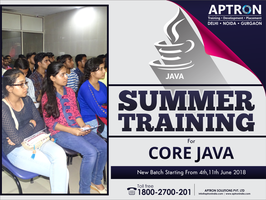 Summer Core Java Training in Delhi by devaryaaa