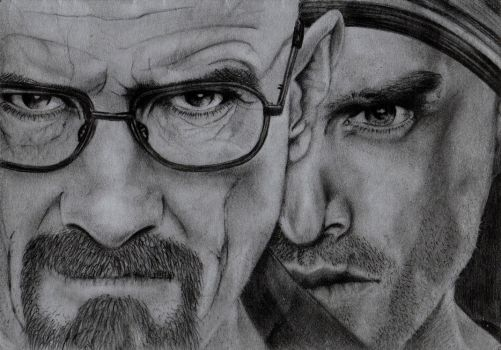 Heisenberg's the one that knocks yo! by reluctantlymortal