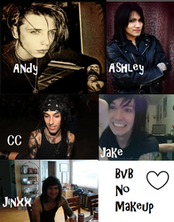 Black Veil Brides without Makeup! by XxTabbixX