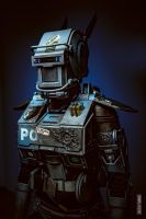 Chappie Robot by NellMcGooffin