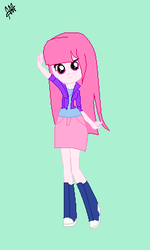Rose Star In EQG Mini Game By Rall245 by Rall245