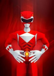 Red Ranger by InkTheory