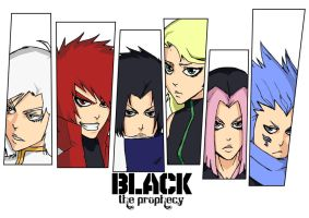 BLACK: The Prophecy by WhytManga